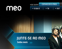 MEO.pt  - Website - Portugal Telecom