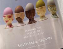 Graham & Brown Adverts