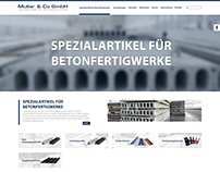 Müller & Co Website
