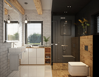 SMALL SCANDINAVIAN BATHROOM