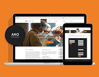 AMO Worldwide UI Re-design