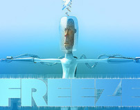 Freeze 3d character design and modelling