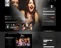 MGM Mirage Website (Spec Design)