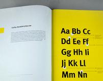FF Meta – typeface promotion