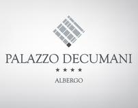 """Corporate image """"Palazzo Decumani"""" Hotel"""
