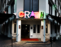 // CRASH NEON SIGN LOGO