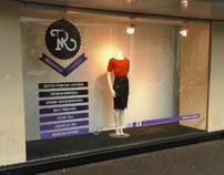Dutch Fashion Awards Nominees window display | DFF