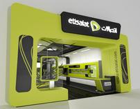 Etisalat Showroom Proposal