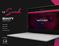 Le Swish Beauty landing page