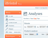 iBristol : Interface Administrateur