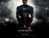 Captain America - Theatrical Site