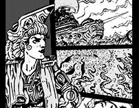 Corsarios - Página de cómic