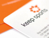 Keep Sports | Logotype and Business Card Design
