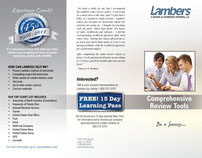 Lambers Tri-fold and Flyer