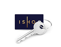 ISHO brand identity