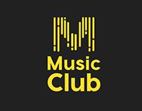 """""""Music Club"""" Logo & Branding"""