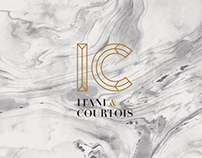 ITANI & COURTOIS - Logotype and Business cards
