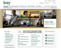 Ivey School of Business, HBA Program