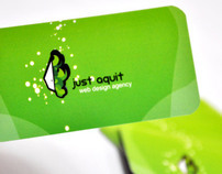 Just Aquit - Branding y Website
