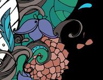 Vandevi : Illustrations for a graphic novel for kids.