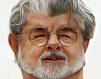 George Lucas Caricature