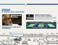 Illustration for Bajaj Electrical Website