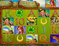 """Slot machine - """"Irish Luckyland"""""""