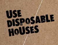 The disposable house for pair