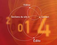 Centre Culturel & Touristique du Vin : Site Web