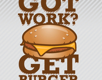 Got work? Get Burger!