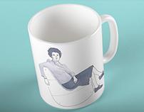 Peggy Guggenheim. Merchandising prototype