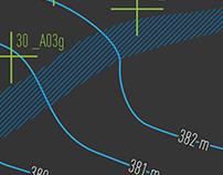 Terrain Map / Simple, Flat