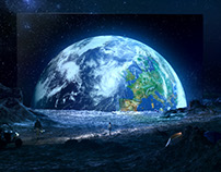 SONY BRAVIA OLED - EARTH RISING