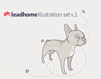 Leadhome Isometric Illustration Set
