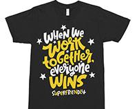 SuperFriendly Tshirt