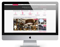 Argento Luce. Online Shop design