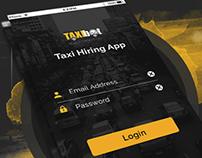 TaxiHiring app portfolio