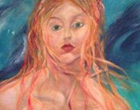 Vessels: Mermaid mural and set aging
