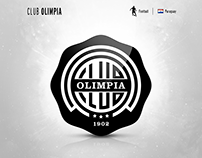 Club Olimpia | logo redesign