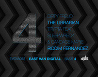"EastVanDigital ""Bass 4"" - Various Artists"