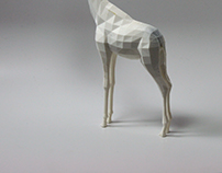 Headless giraffe