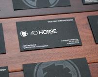 40 Horse Identity