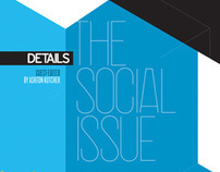 The Social Issue: Details Magazine