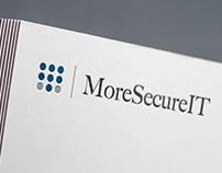 More Secure IT - Logo, Branding, Website Design