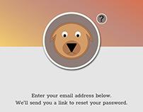 UI Animation - Forgot password?