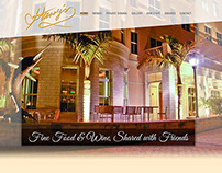 Harry's Restaurant: Website Design (Mock Up)