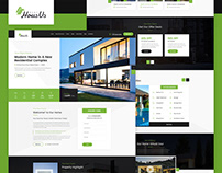 HousUs - Rental Property PSD Template