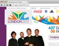 2012 Olympic Web Design