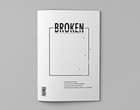 Broken—Typographic Magazine