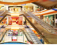 Shopping Mall Interior Visualization in 3D
